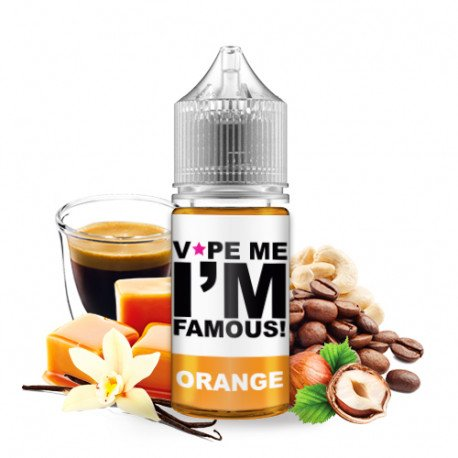 Concentré Orange 30ml - Vape me i'm famous
